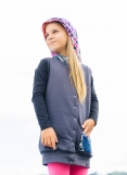 Vestido/Chaleco Reversible Ankora