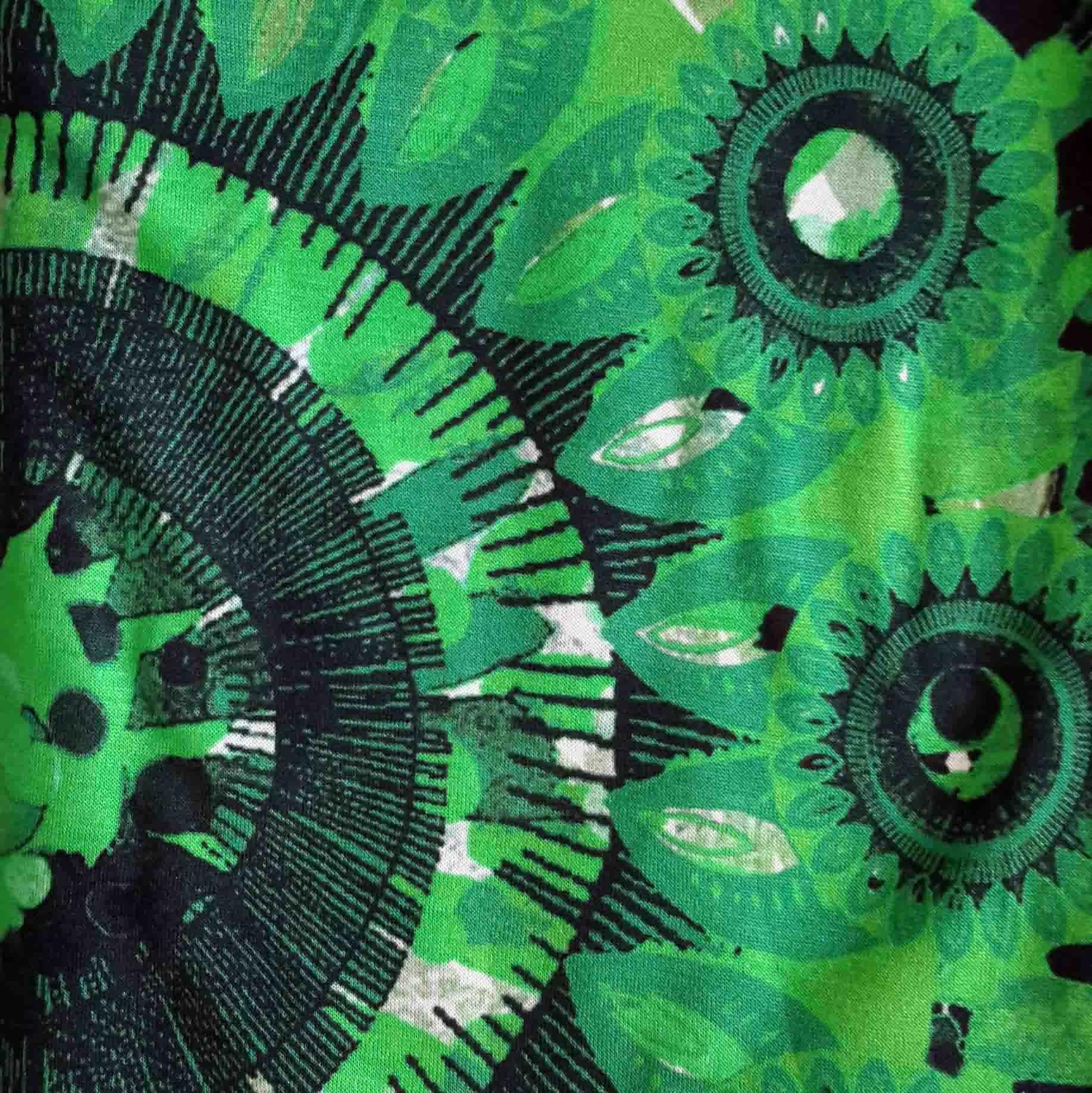 verde+estampado verde